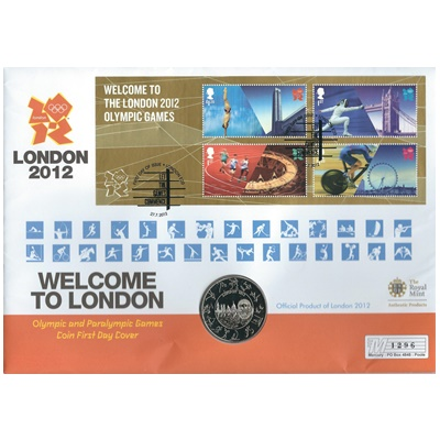 2012 £5 Coin - Welcome to London 2012
